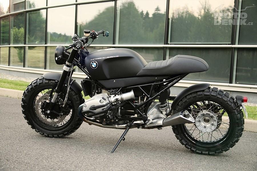 Motodenikcz Bmw R1200 Lazareth Café Scrambler